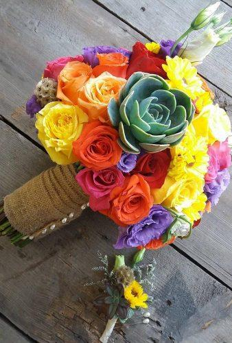 mexican wedding decor color bouquet luna events oficial