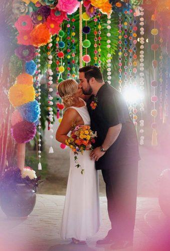 mexican wedding decor color wedding arch avesolphotography