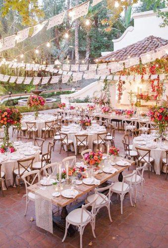 mexican wedding decor outdoor reception revelrypartyco