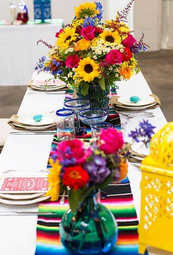 mexican wedding decor table decor Candy Acosta Photography