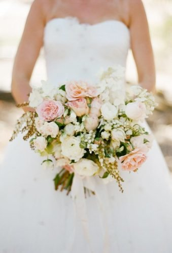 wedding bouquets 2019 blush wedding bouquet Sylvie Gil Photography