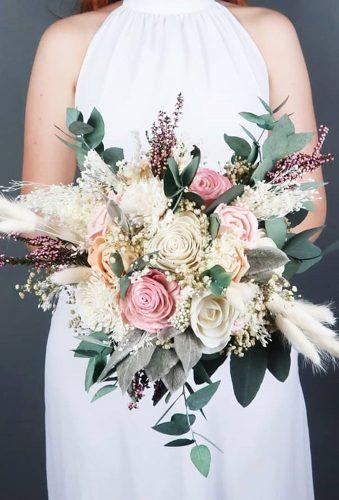 wedding bouquets 2019 boho bouquet mkedracreations