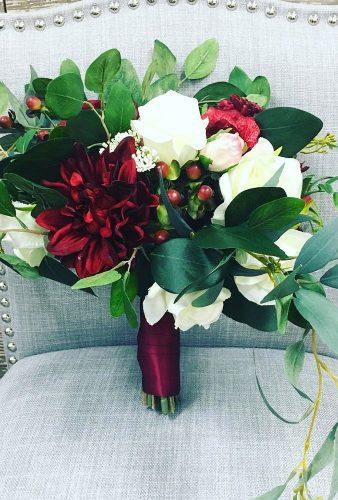wedding bouquets 2019 burgundy bouquet chattwreathco