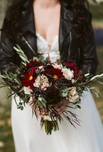 wedding bouquets 2019 burgundy wedding bouquet jennmanorphoto