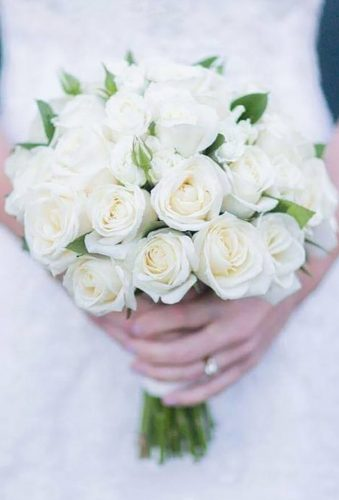 wedding bouquets 2019 classic white bouquet beaukayes