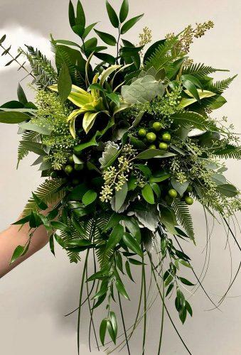 wedding bouquets 2019 green bouquet missycristina floraldesigns