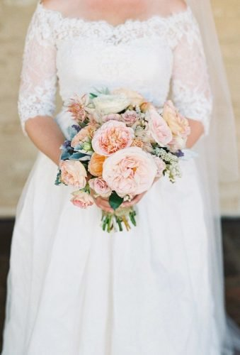 wedding bouquets 2019 nude bouquet Lane Dittoe