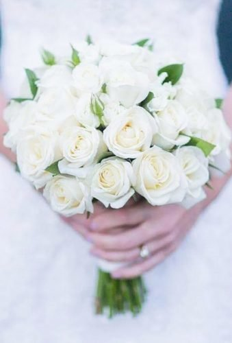 wedding bouquets 2019 white roses bouquet beaukayes florist