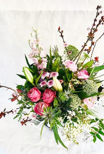 wedding bouquets 2019 wild wedding bouquet budsandwillow