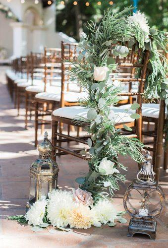 wedding chair decorations boho aisle hellobluephoto