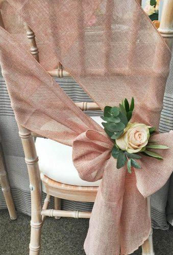 wedding chair decorations vintage wedding chair with flower icedandspliced