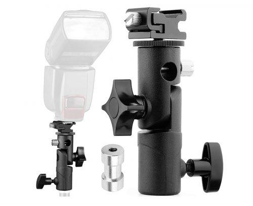 wedding photography flash bracket