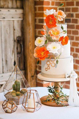 wedding themes geometric decor himmeli