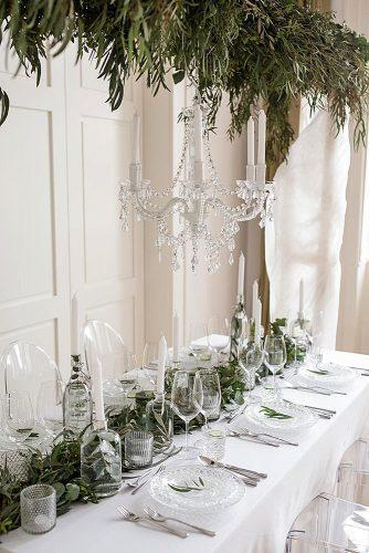 wedding themes greenery style decor