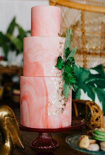 wedding trends 2019 coral wedding decorations marble cake elisecakes