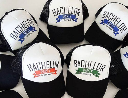 bachelor party gifts stag hats