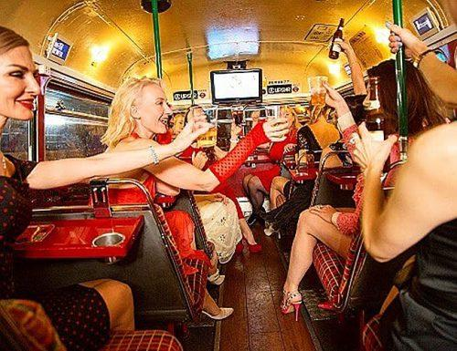 bachelorette party songs hens party bus