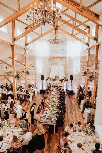 barn wedding catering ideas
