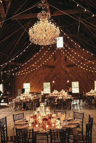 barn wedding wedding lighting ideas