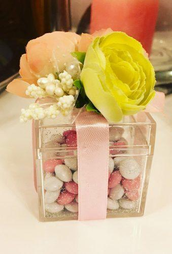 engagement gifts sweet bo x with candy elta design