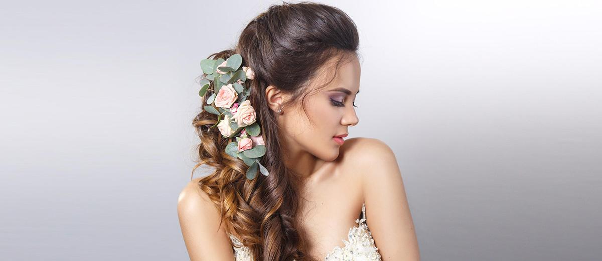 half up half down wedding hairstyles featured