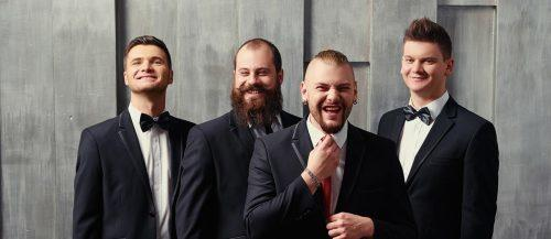 how to plan a bachelor party groom with groomsmen together featured