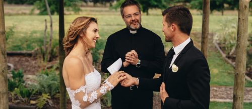 how to write wedding vows bride and groom exchange vows