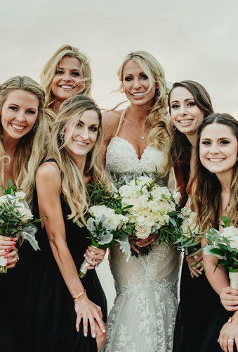 real wedding cortney luis bride and bridesmaids Fer Juaristi photography