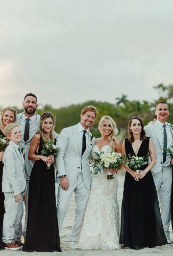 real wedding cortney luis bride groom and friends Fer Juaristi photography