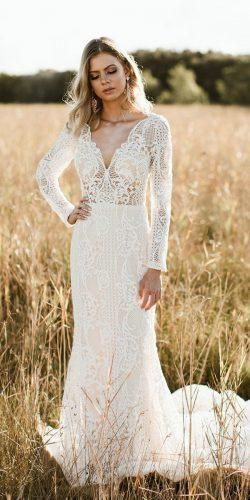 4ae3c331039b rustic wedding dresses sheath with long sleeves full lace vintage  goddessbynature