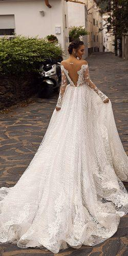 tina valerdi wedding dresses long sleeves ballgown natural waist Verona