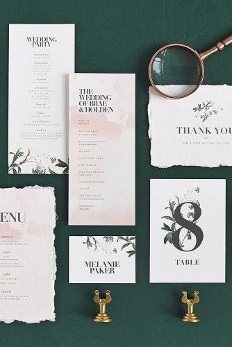 wedding invitation wording design style
