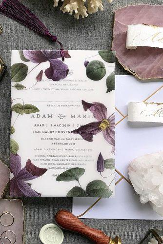 wedding invitation wording style design