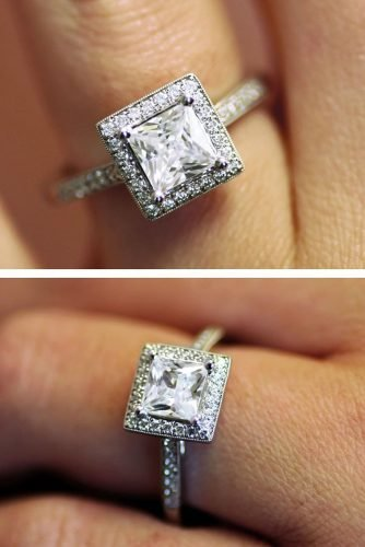 engagement ring shapes princess cut engagement-rings halo engagement rings white gold engagement rings coastdiamondjewelry