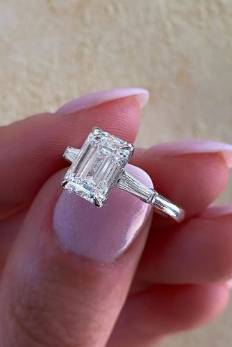 engagement ring shapes white gold engagement rings emerald cut engagement rings three stone engagement rings michael alan jewelers oc