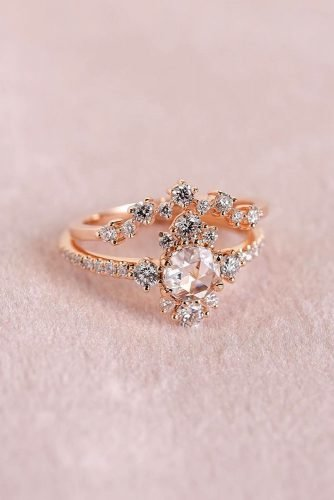 wedding rings unique wedding rings rose gold engagement rings beautiful engagement rings halo engagement rings best rings princessbridediamonds