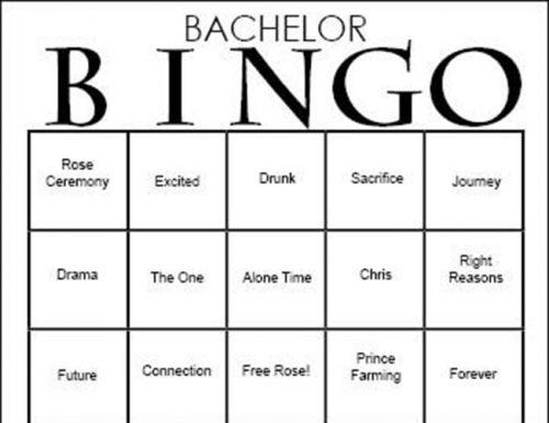 bachelor party games bachelor bingo