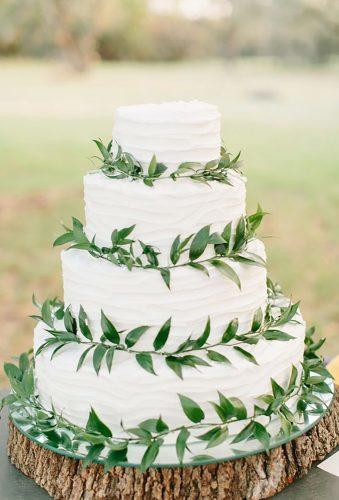 bohemian wedding cakes greenery cake Mint Photography