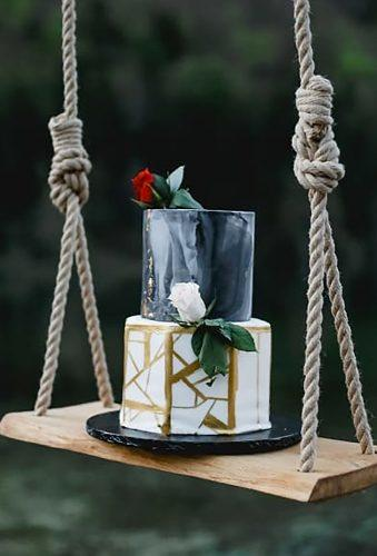 bohemian wedding cakes grey cake on swing artbox photography