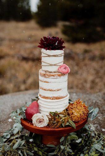 bohemian wedding cakes simple cake burgundy cake topper forthewestandwild