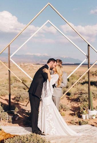 bohemian wedding photos boho wedding ceremony Elisabeth Millay