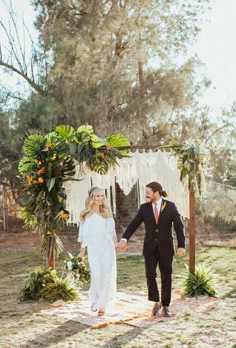 bohemian wedding photos boho wedding couple Chelsea Maras Photography