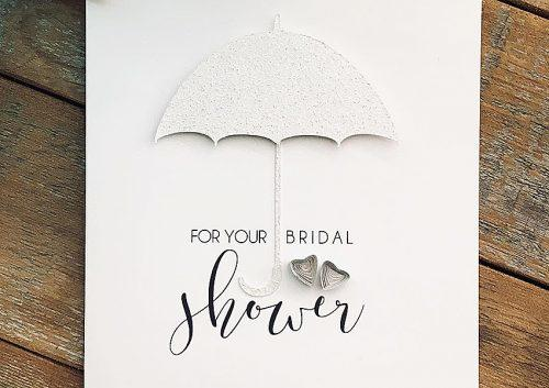 bridal shower wishes design cards for shower