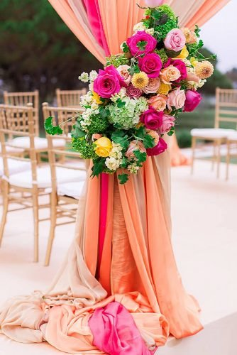 coral wedding decorations wedding flowers decor