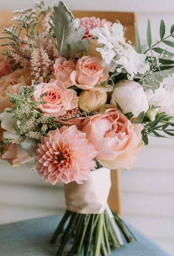 dahlias wedding bouquets blush dahlias in bouquet socophotographyau