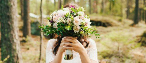 30 Wonderful Dahlias Wedding Bouquets