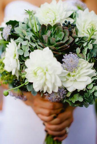 dahlias wedding bouquets white green dahlia aodellphoto