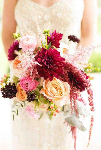 dahlias wedding bouquets wild flower-in-bouquet ashley link