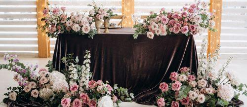 dusty rose wedding featured