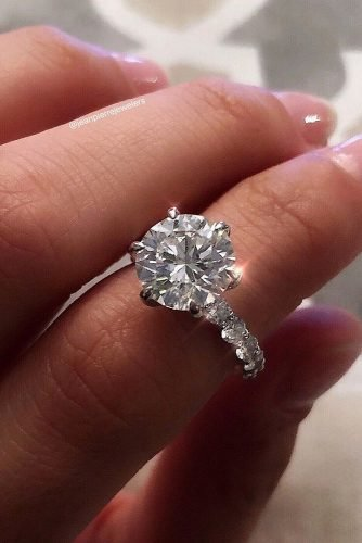 engagement ring shapes solitaire engagement rings white gold engagement rings round engagement rings jeanpierrejewelers